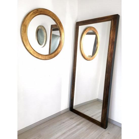 Зеркало большое напольное и настенное в полный рост Pascal Состаренное золото в интернет-магазине ROSESTAR фото