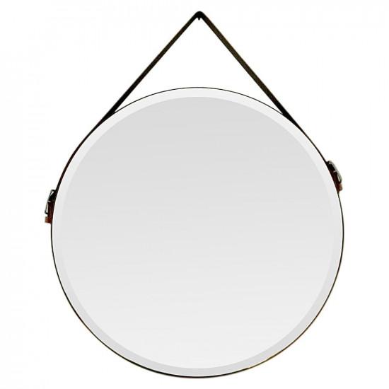 Круглое зеркало на кожаном ремне Didier в интернет-магазине ROSESTAR фото