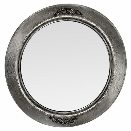 Круглое зеркало в серебряной раме Margot в интернет-магазине ROSESTAR фото
