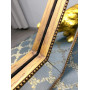 Зеркало восьмиугольное в золотой зеркальной раме Henri в интернет-магазине ROSESTAR фото 2
