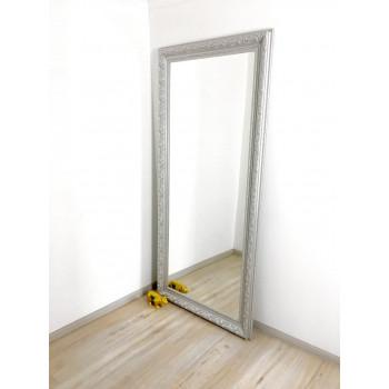 Зеркало большое напольное и настенное в полный рост Аrgent Серебро