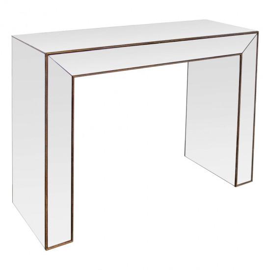 Зеркальная консоль Gold в интернет-магазине ROSESTAR фото