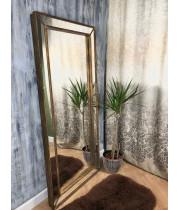 Зеркало большое напольное и настенное в полный рост в зеркальной раме Monic