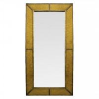 Зеркало большое напольное в полный рост Fandango gold