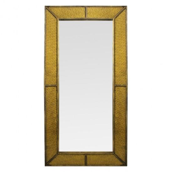 Зеркало большое напольное и настенное в полный рост Fandango gold в интернет-магазине ROSESTAR фото