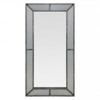 Зеркало большое напольное и настенное в полный рост в серебряной раме Fandango silver