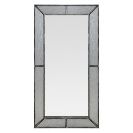 Зеркало большое напольное и настенное в полный рост в серебряной раме Fandango silver в интернет-магазине ROSESTAR фото