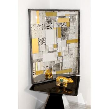 Зеркало в золотой раме Fabrizio gold