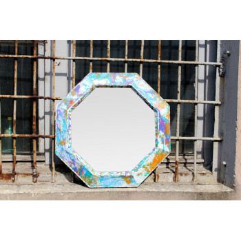 Зеркало восьмиугольное в раме Farre