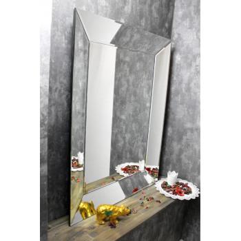 Зеркало в зеркальной раме Monna Серебро