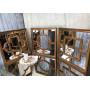 Квадратное зеркало Laforet Состаренное золото в интернет-магазине ROSESTAR фото 3