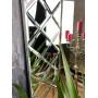 Венецианское зеркало в зеркальной раме Petit Cristal Серебро в интернет-магазине ROSESTAR фото 1