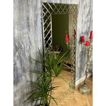 Зеркало венецианское большое напольное и настенное в полный рост в зеркальной раме Cristal