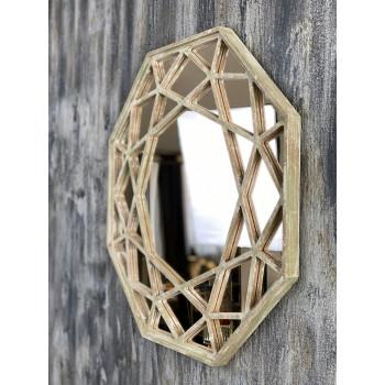 Зеркало восьмиугольное в раме Summertime