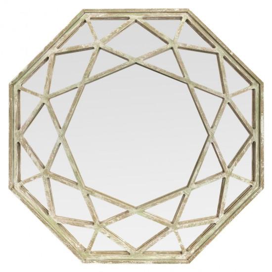 Зеркало восьмиугольное в раме Summertime в интернет-магазине ROSESTAR фото