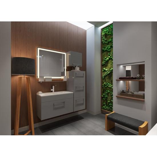 Комплект мебели для ванной комнаты Кубика 80  в интернет-магазине ROSESTAR фото