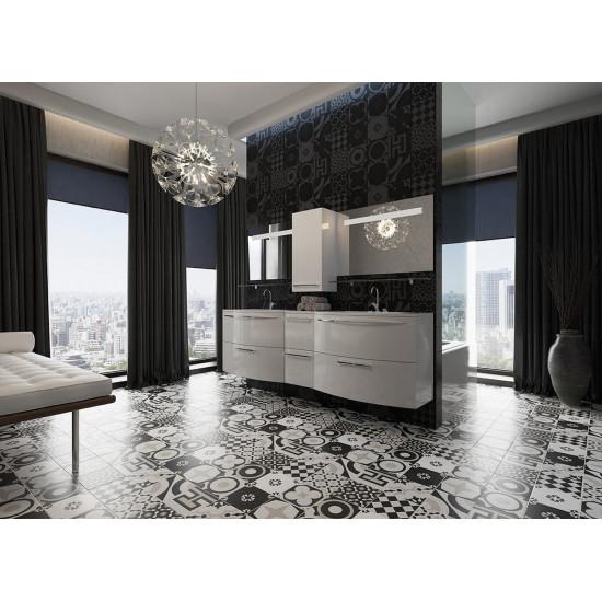 Комплект мебели для ванной комнаты Лонг 90 комбо в интернет-магазине ROSESTAR фото