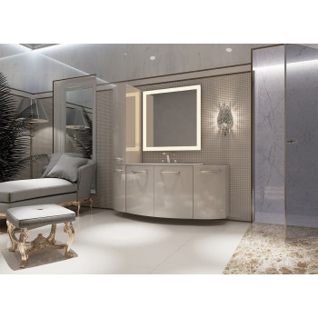 Комплект мебели для ванной комнаты Токката 90