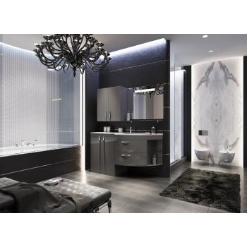 Комплект мебели для ванной комнаты Трио Люкс