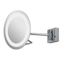 Зеркало косметическое настенное с подсветкой и с увеличением А0526