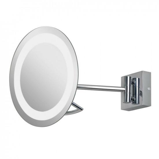 Зеркало косметическое настенное с подсветкой и с увеличением А0526 в интернет-магазине ROSESTAR фото