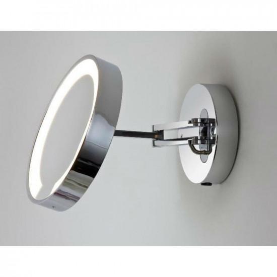 Зеркало косметическое настенное с подсветкой и с увеличением А0628 в интернет-магазине ROSESTAR фото