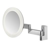 Зеркало косметическое настенное с подсветкой и с увеличением А0760