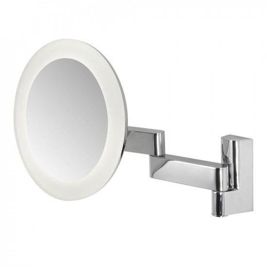 Зеркало косметическое настенное с подсветкой и с увеличением А0760 в интернет-магазине ROSESTAR фото