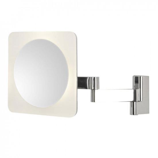 Зеркало косметическое настенное с подсветкой и с увеличением А0815