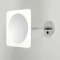 Зеркало косметическое настенное с подсветкой и с увеличением А0857