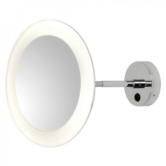 Зеркало косметическое настенное с подсветкой и с увеличением А0880 в интернет-магазине ROSESTAR фото