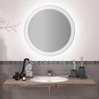Круглое зеркало с подсветкой Амина