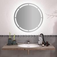 Круглое зеркало с подсветкой Андо