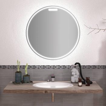 Круглое зеркало с подсветкой Элиаш