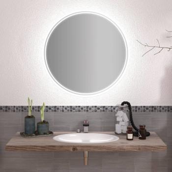 Круглое зеркало с подсветкой Элина