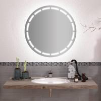 Круглое зеркало с подсветкой Люсия