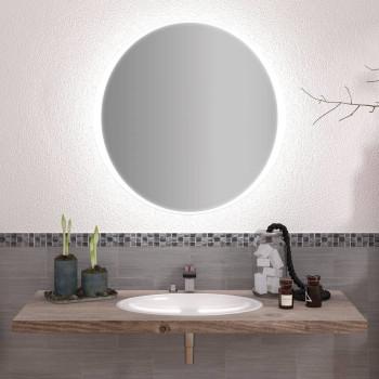 Круглое зеркало с подсветкой Милиан