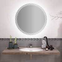Круглое зеркало с подсветкой Пандора