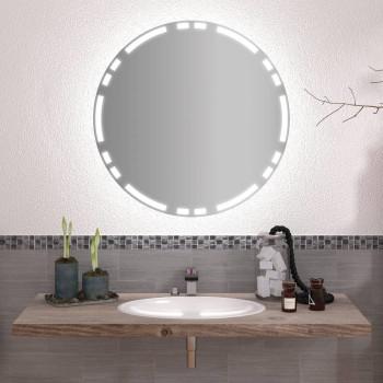 Круглое зеркало с подсветкой Вита