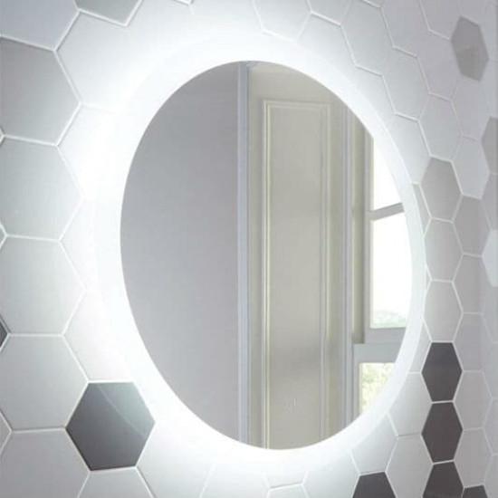 Круглое настенное зеркало со светодиодной LED-подсветкой Балтазар в интернет-магазине ROSESTAR фото