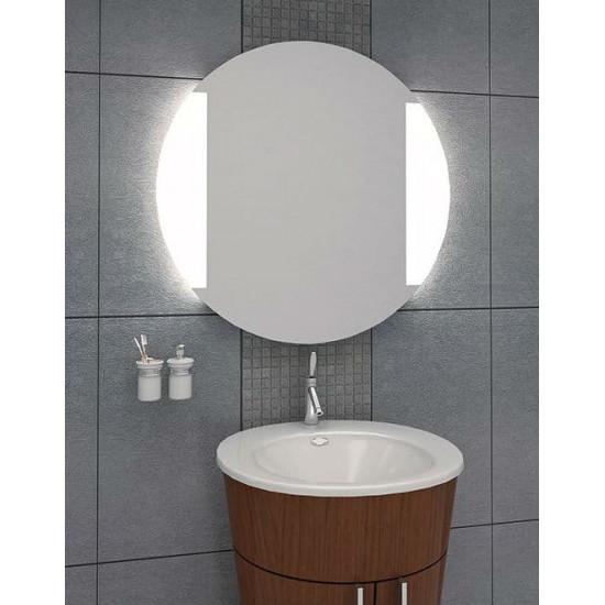 Круглое настенное зеркало со светодиодной LED-подсветкой Riya в интернет-магазине ROSESTAR фото