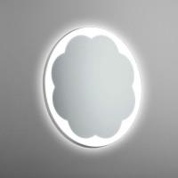 Круглое настенное зеркало со светодиодной LED-подсветкой Shubert