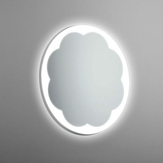Круглое настенное зеркало со светодиодной LED-подсветкой Шуберт в интернет-магазине ROSESTAR фото