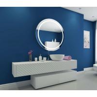 Круглое настенное зеркало со светодиодной LED-подсветкой Harmony