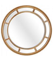 Большое круглое зеркало Prestige Gold