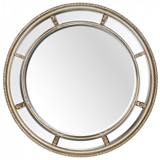 Большое круглое зеркало Prestige Silver  в интернет-магазине ROSESTAR фото