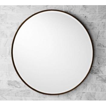 Круглое зеркало в раме Эва Бронза