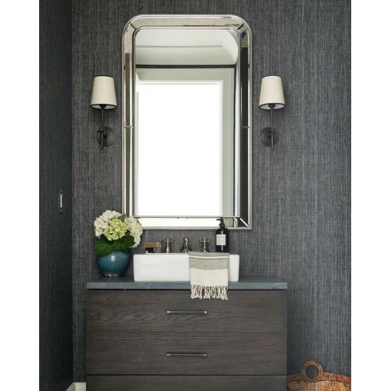Зеркало в серебряной зеркальной раме Гийом в интернет-магазине ROSESTAR фото