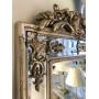 """Напольное большое зеркало в раме в полный рост """"Пабло"""" Серебро в интернет-магазине ROSESTAR фото 4"""