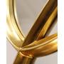Дизайнерское стильное оригинальное зеркало Луар в фигурной золотой раме в интернет-магазине ROSESTAR фото 2